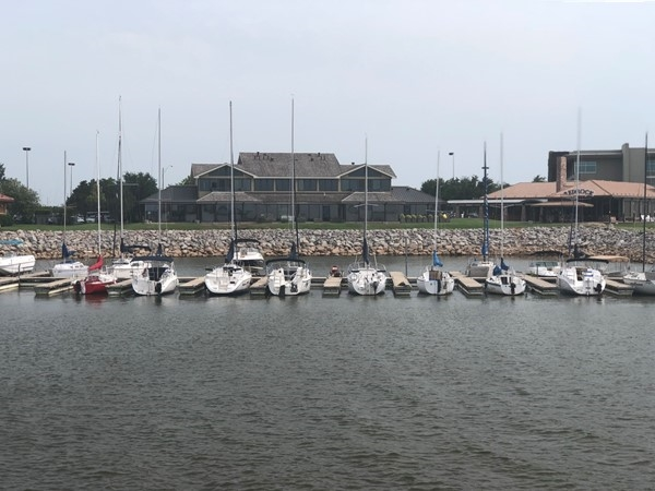 You can stow your boat at Lake Hefner