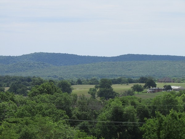 Welcome to the foothills of the Ozarks in Fort Gibson
