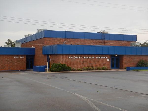 A.G. (Buck) Creach, Jr. auditorium is a multi use facility serving Hammon