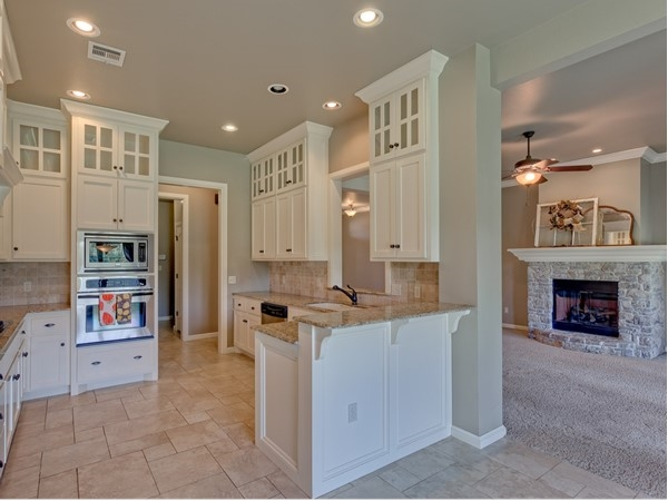 An Attractive Kitchen Typical To Those Found In Griffin Park In West Edmond