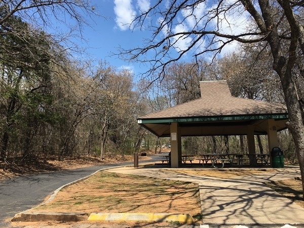 Covered pavilions for rent for outdoor events at Hafer Park