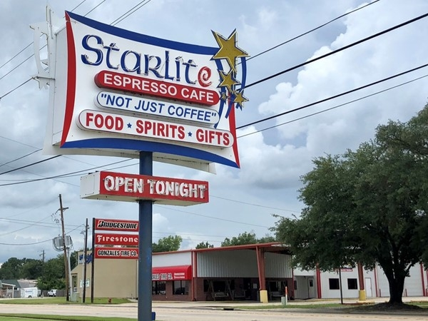 Great breakfast options at Starlite Cafe in Gonzales