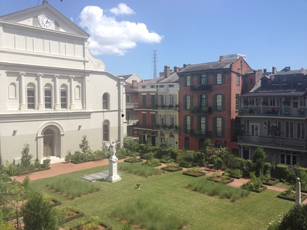 St. Louis Cathedral Garden, French Quarter