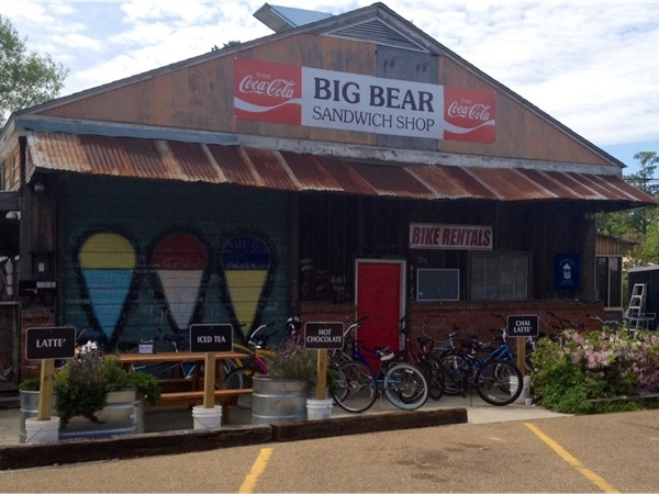 While at the Trailhead enjoy a snow cone or rent a bike at the Shiver Shack