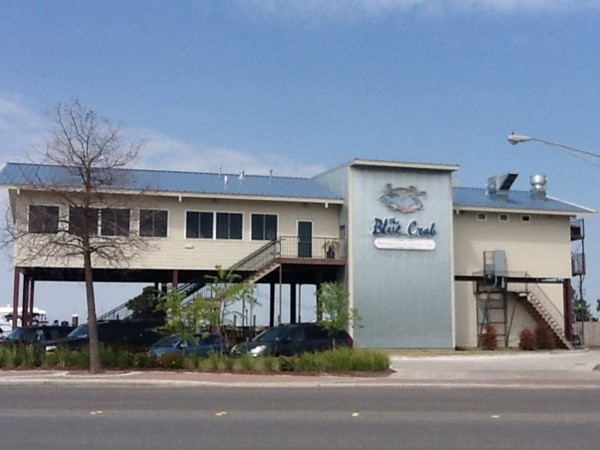 Blue Crab Restaurant along West End Boulevard