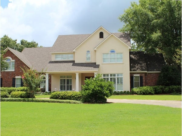 Spacious homes along Bayou DeSiard can be found in River Oaks subdivision