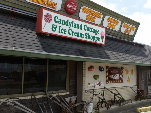 Step back in time visiting this old fashioned candy store located in the heart of Rayne