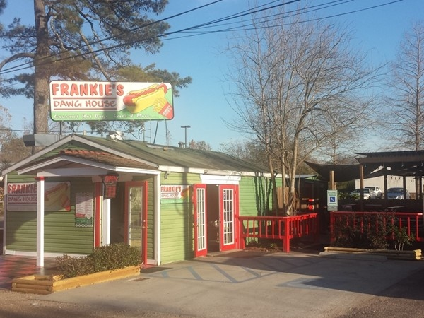 Frankie's Dawg House is a popular local eatery