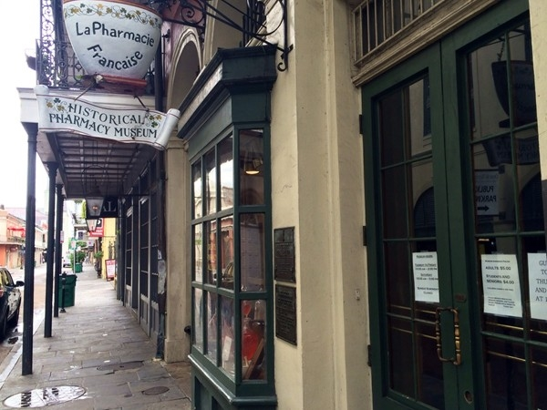 La Pharmacie Francaise Museum on Chartres Street
