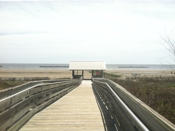 Grand Isle State Park has a beautiful sunny beach open to the public. Entry is $2 per person.