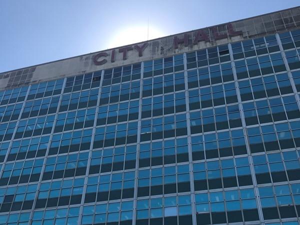 City Hall at 1300 Perdido Street