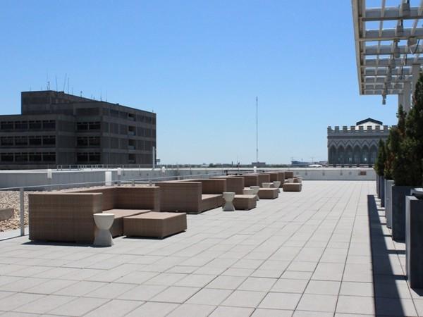 Tsunami rooftop terrace