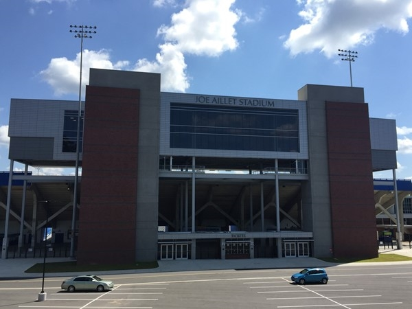 Joe Aillet Stadium is home to the Louisiana Tech Bulldog's football team