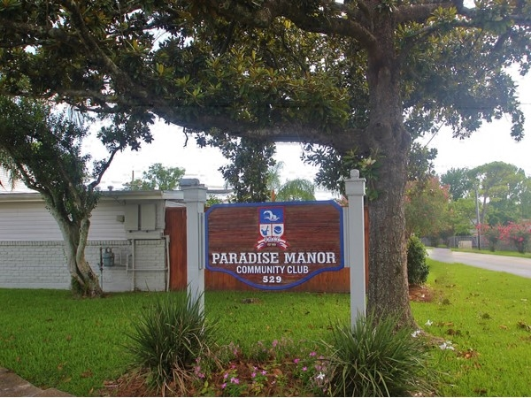 Paradise Manor Country Club at Sauve Road and Generes