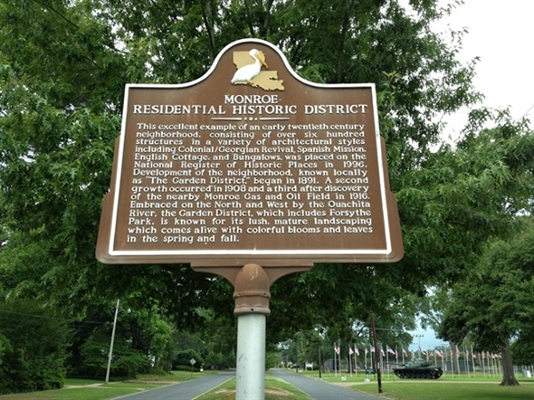 History Abounds In The Monroe Garden District