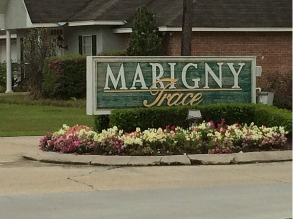 Marigny Trace features beautiful, upscale homes