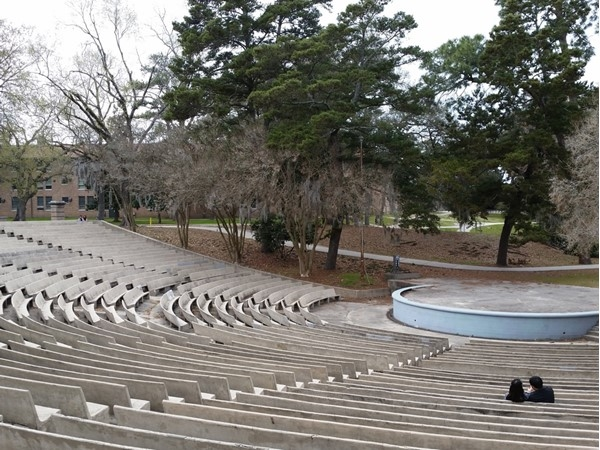 Greek Amphitheater on LSU campus