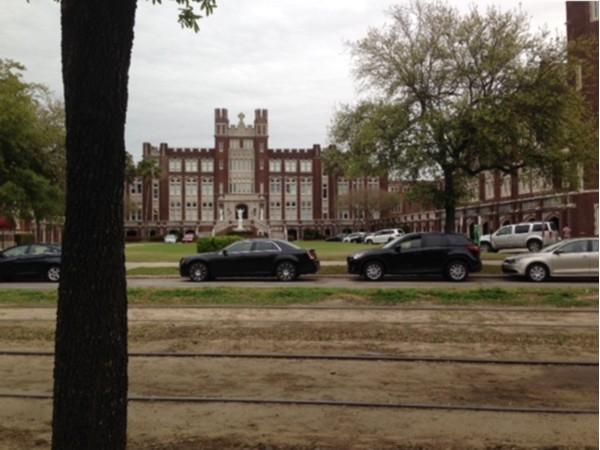 Loyola University New Orleans on St. Charles Avenue