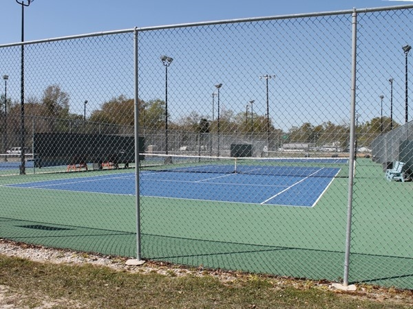 The Slidell City Tennis Courts are open 24 hrs a day with many tennis leagues to join