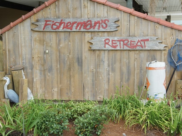 Fisherman's Retreat entrance