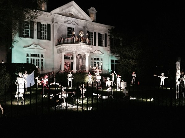 The ultimate Halloween House on the eve of All Hallow's Eve.  New Orleans knows how to do it right