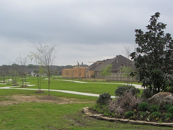 Dog walking park in Cypress Meadows