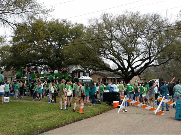 St. Patrick's Day Parade in Baton Rouge