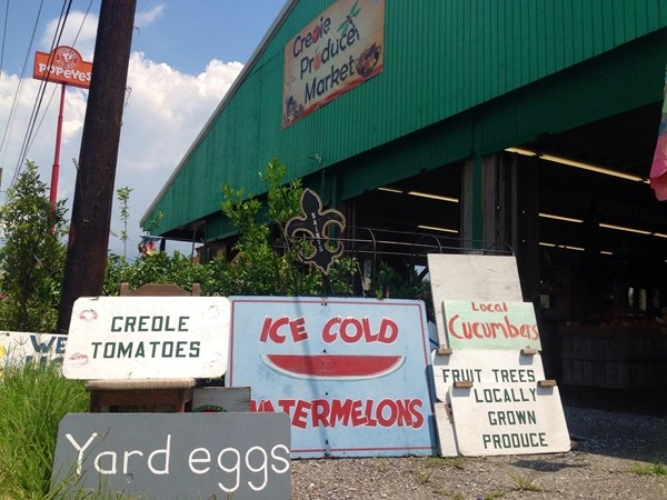 Creole tomatoes and produce in Belle Chasse