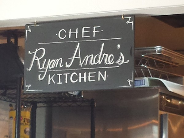 Check out Chef Ryan Andre at City Pork