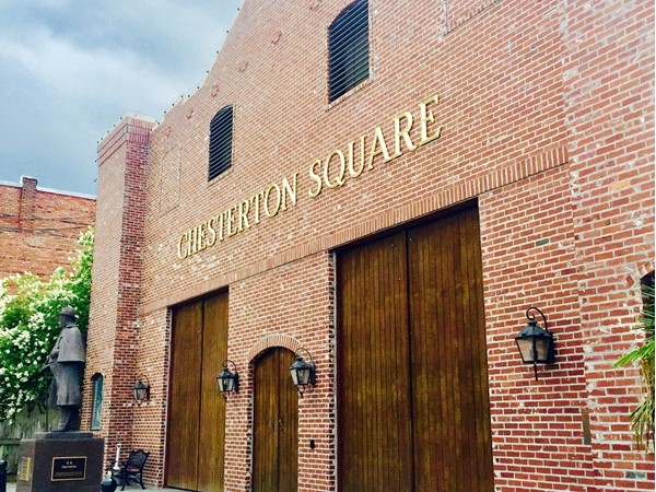 Chesterton Square is a beautiful place to have an event in downtown Ponchatoula