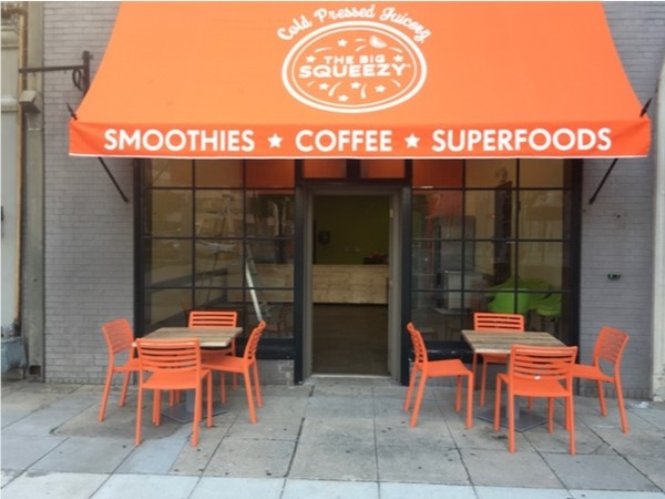The Big Squeezy is a local cold-pressed juice and smoothie bar. A new location opening soon