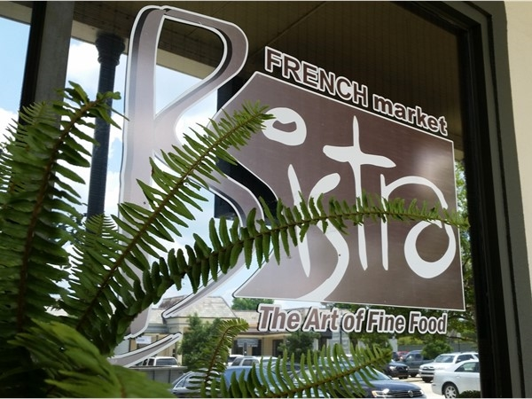 French Market Bistro was expanded in 2015 and is a great spot on Highland Road