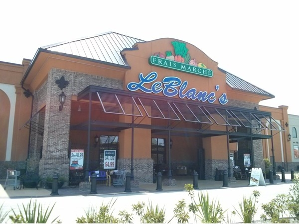 LeBlanc's Frais Marche opened in 2014 between Prairieville and Gonzales on Airline Hwy