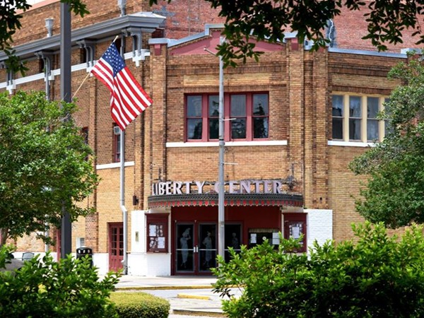 The well known Liberty Center