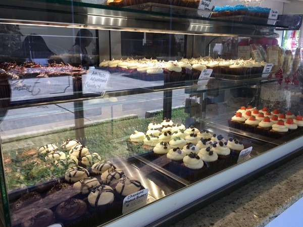 Need an attitude adjustment? Go to Little Cakes in Alexandria which now has a drive-through