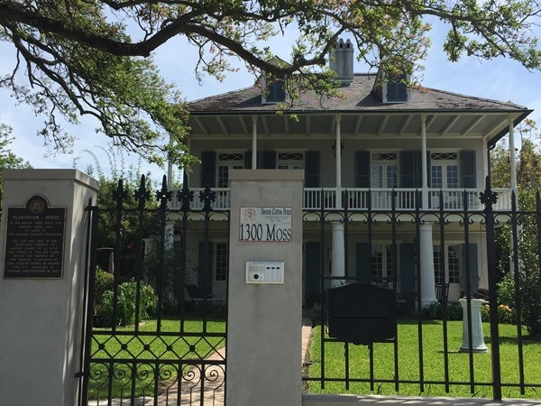 Spanish custom house is the oldest house in Bayou St. John neighborhood, built in 1784