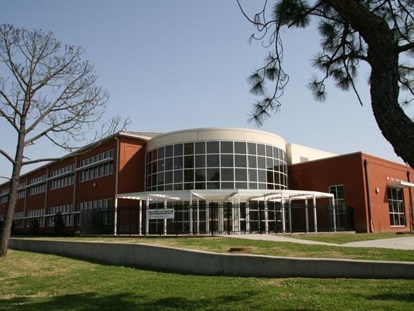 Recently built Edward Hynes Elementary School on Harrison Avenue