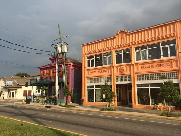 New Orleans Healing Center on St. Claude - food, music, books and more