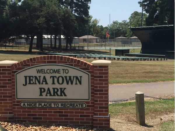 Jena's town park is used for all sorts of family fun events