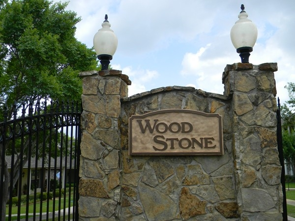 Wood Stone: Gated Subdivision Features Quality Homes and Security