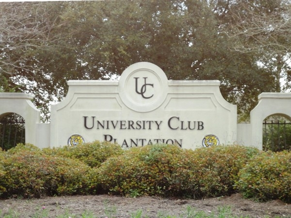 Welcome to University Club Plantation!