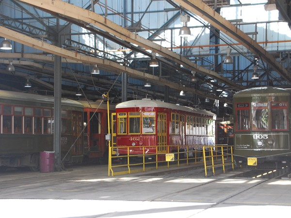 Carrollton Station Streetcar Barn