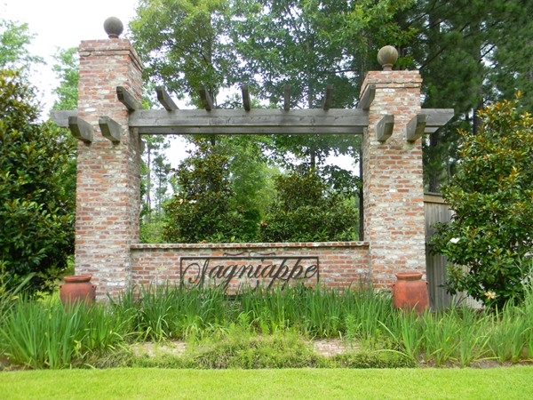 Lagniappe's luxurious homes and large lots make it a hidden treasure