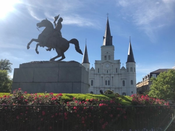 Our beloved St Louis Cathedral in Jackson Square is recognizable world wide as being in NOL