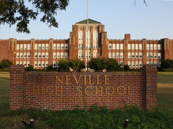 Neville High School, located in Monroe, offers a variety of academics and athletics