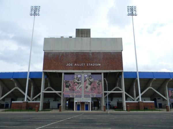 Louisiana Tech University Joe Aillet Stadium - The home of Bulldog Football