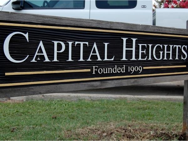 Capital Heights has a wonderful sense of community and a strong neighborhood association