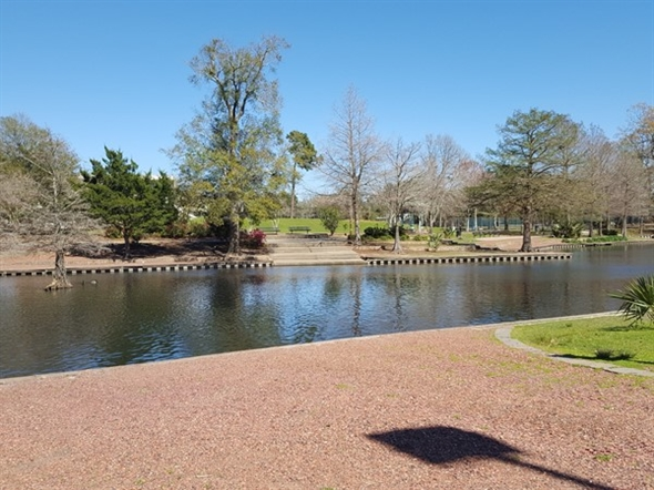 Ahhhh...a great place to exercise, relax and enjoy nature at Girard Park