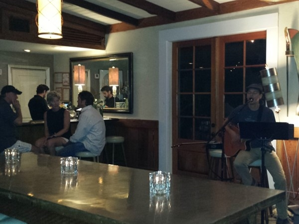 Lakehouse, Mandeville's fish and seafood restaurant with musical entertainment on Friday