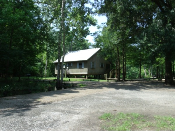 Cabins at Fausse Pointe State Park